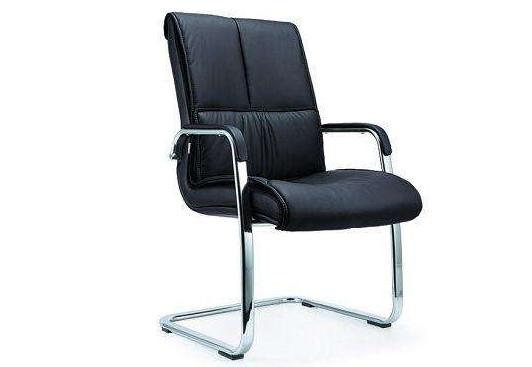 皮面弓形椅