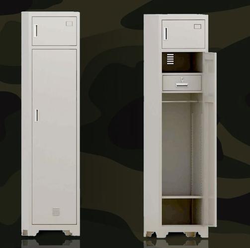 制式士兵单门物品柜